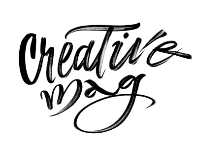 Creative Mag calligraphy brush