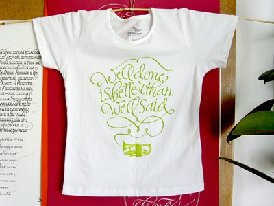 t-shirt t-shirt calligraphy handwriting lettering