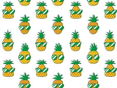 Stylish Pineapples Pattern