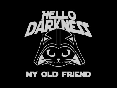 Cat Vader - Hello Darkness My Old Friend