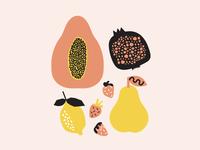 fruit + composition