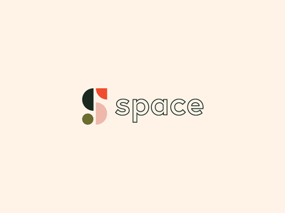 space logo type simple minimal illustrator adobe thirtydaysoflogos thirtylogos day1 space logodesign graphicdesign