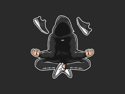 hypebeast sneakers sport identity design character mascot animal icon illustration brand logo