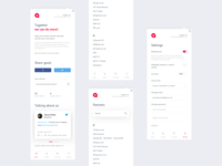 Altruisto extension white app covid clean charity donate extension interface minimalism modern help people store app design uxui ux money finance