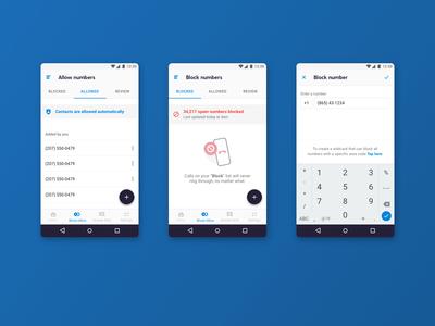 RoboKiller Android - Block & Allow