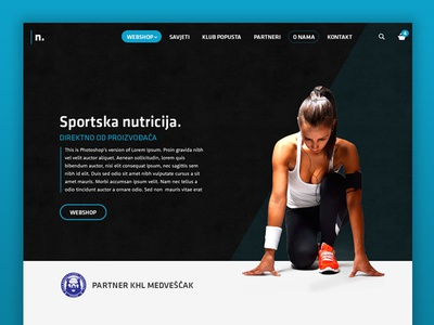 Nutrix webshop shop web webshop ecommerce body gym fitness sport nutrition