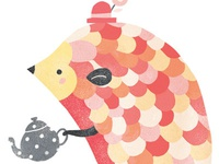 Hedgehog Tea Party