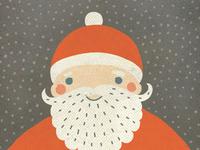 Retro Santa