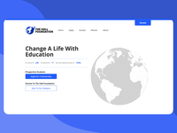 The Hall Foundation Landing Page