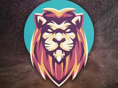 lion esports typography brand branding vector design illustration designs logo lion head lion logo lion