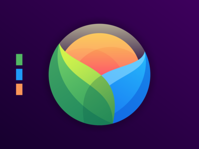 sun colorful logo