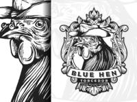 Rooster vintage logo