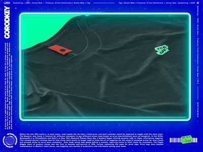 tag illustration branding neon postmodernisme punk price print conceptual typography tag
