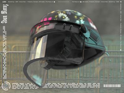 The Peace punk vectrary 3d concept illustration surrealism digitalart render 3d