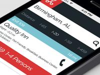 Responsive Web App Concept