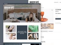Narrow Gate Trading Co. E-Commerce Site
