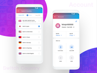 Lets VPN - Country & Account