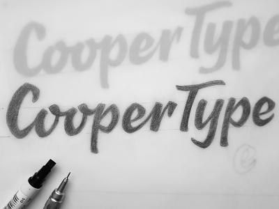 Discipline cooper pencil logo design pencil drawing sketch hand lettering drawing brand design typography branding logo lettering handlettering