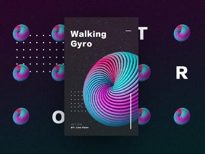 Walking gyro