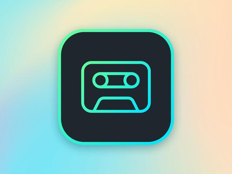 App Icon app icon icon daily ui 005 dailyui sketch vector logo ui app gradient design dribbble