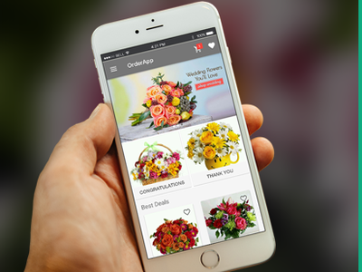 On Demand Flowers Delivery App Design & Development Solutions