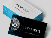 Max Strom Business Card