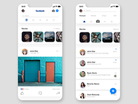 Facebook Mobile UI Redesign -2-