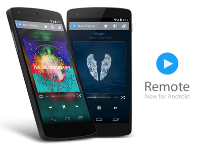 Remote + Android apple android mockup mock-up app design remote itunes iphone mock up