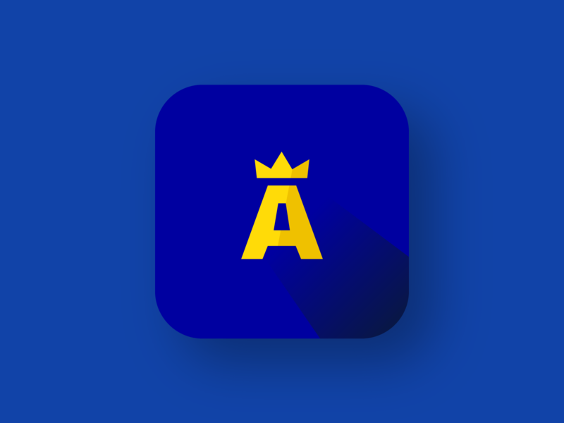 English Learning App Icon app logo icon branding