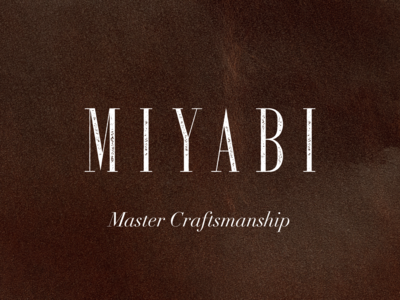 MIYABI - Condept for the Leather shoes brand