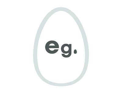 eg mockup typography brand branding logo