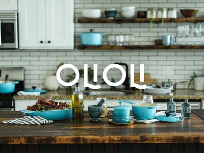 OLIOLI mockup typography brand branding logo