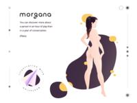 morgana - illustration with quotation