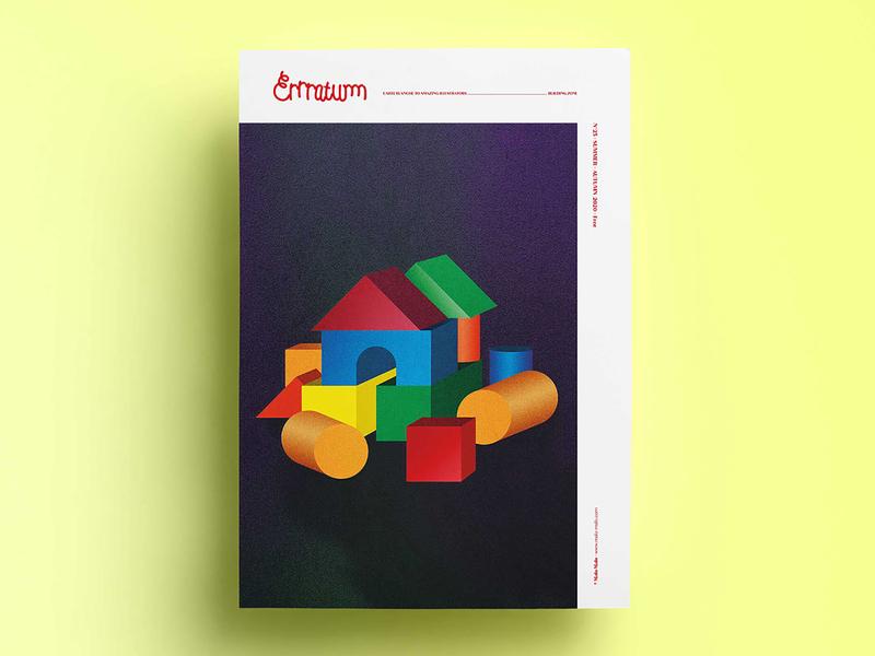 Journal Errratum illustration art magazine cover magazine cover artwork cover art cover design newspaper cover print design illustrator illu print illustration