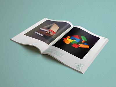 Magazine Gros Gris house maison game livre revue magazine book magazine illustration print illustrator illustration illu paper printdesign