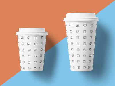 Survive Coffee survivemondays coffee pattern branding