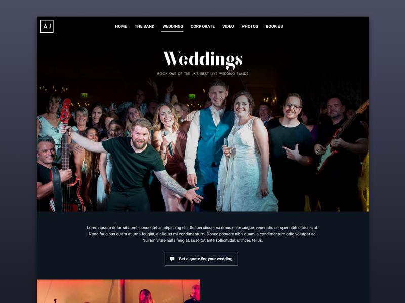Aj   weddings
