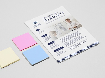 Brochures for the work agency PROPLUSCO prints print design brochure design brochure print
