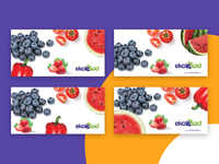 Ekosad.sk - outside banner for fruits and vegetables sale. colorful print outside vegetables banner fruits and vegetables online fruits ekosad ecology eco