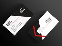 Bussines cards for car transportation