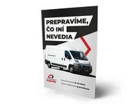 A5 flyer for a car transportation company