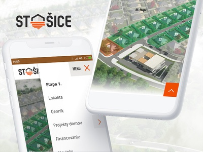 Stosice.sk - real estate seller website slovakia real estate housing green development case study