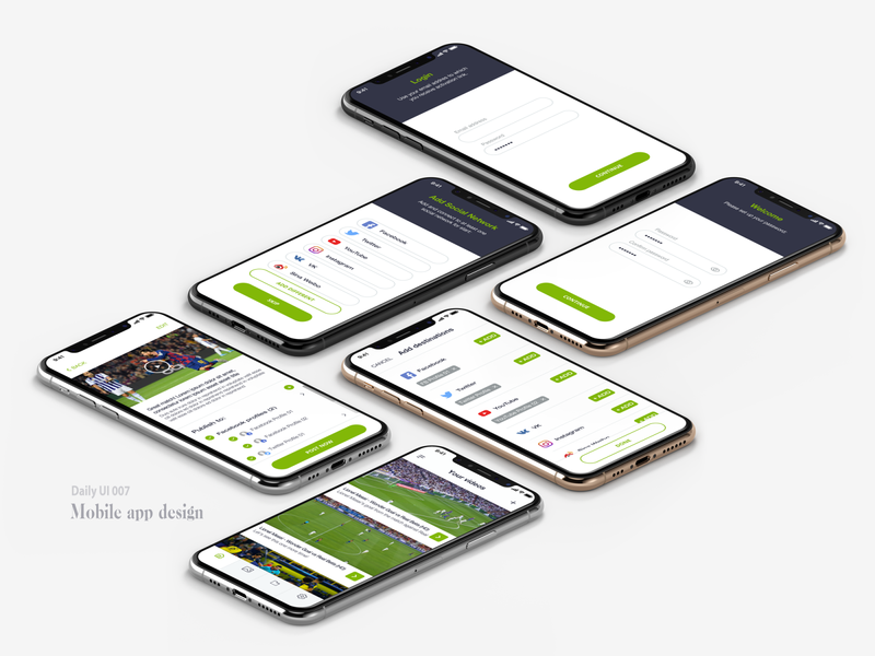 Daily UI #007 illustration webdesign vector mobile app design mobile app mobile ui ux ui design