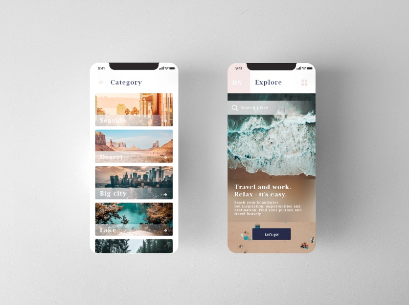 Daily UI #013 travel app mobile app ux ui design