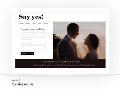 #015 UI challenge webdesign typography ux ui design