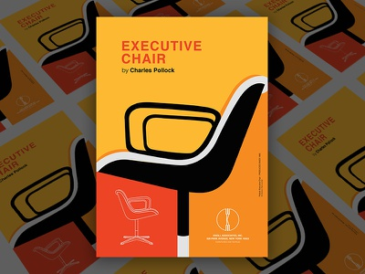Design Poster - Pollock Chair poster chair pollock knoll vector design