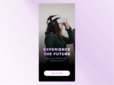 Daily UI - #073 - VR dailyui