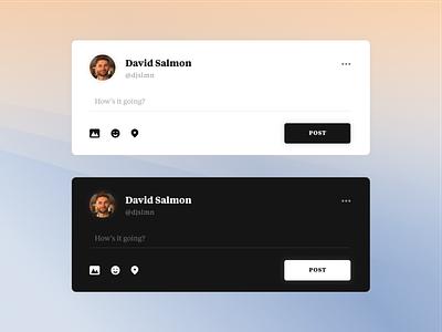 Daily UI - #081 - Status Update dailyui