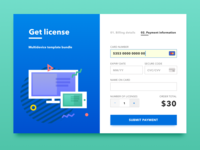Card checkout DailyUI 002