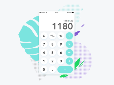 Calculator Daily UI 004 challenge calculator dailyui dailyui100